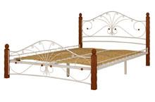 Купить кровать Фортуна 1 белый махагон в Красноярске