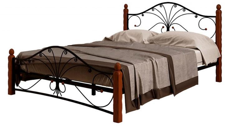 Кровать Фортуна 1 чёрный махагон купить в Красноярске
