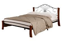 Купить кровать Фортуна 4 Лайт чёрный махагон в Красноярске