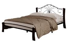 Купить кровать Фортуна 4 Лайт чёрный шоколад в Красноярске