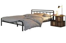 Купить кровать Леон серебро на чёрном в Красноярске