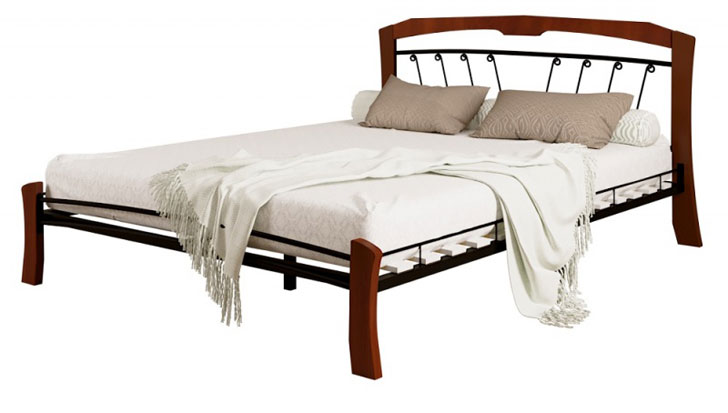 Кровать Ланта лайт махагон купить в Красноярске