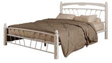 Купить кровать Муза 1 белый белый в Красноярске