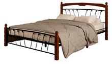 Купить кровать Муза 1 чёрный махагон в Красноярске