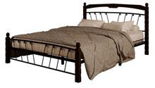 Купить кровать Муза 1 чёрный шоколад в Красноярске