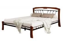 Купить кровать Муза 4 лайт чёрный махагон в Красноярске