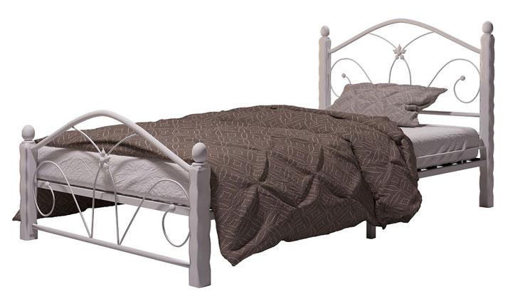 Кровать Бангкок белый купить в Красноярске