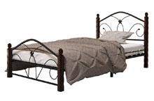 Купить кровать Селена 1 чёрный шоколад в Красноярске