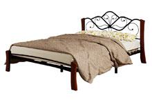 Купить кровать Венера 4 лайт чёрный махагон в Красноярске