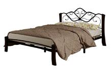 Купить кровать Венера 4 лайт чёрный шоколад в Красноярске